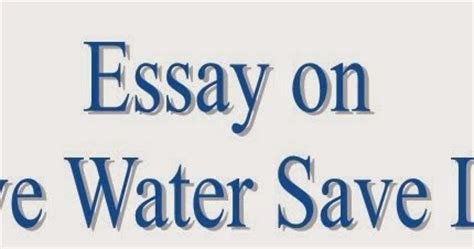 Essay on Go Green Save Future - Ways2GoGreen Blog